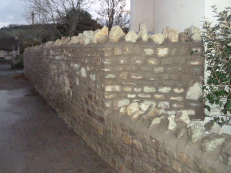 Stone Wall Build Bristol