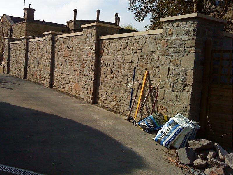 Stone Wall Repair Bristol